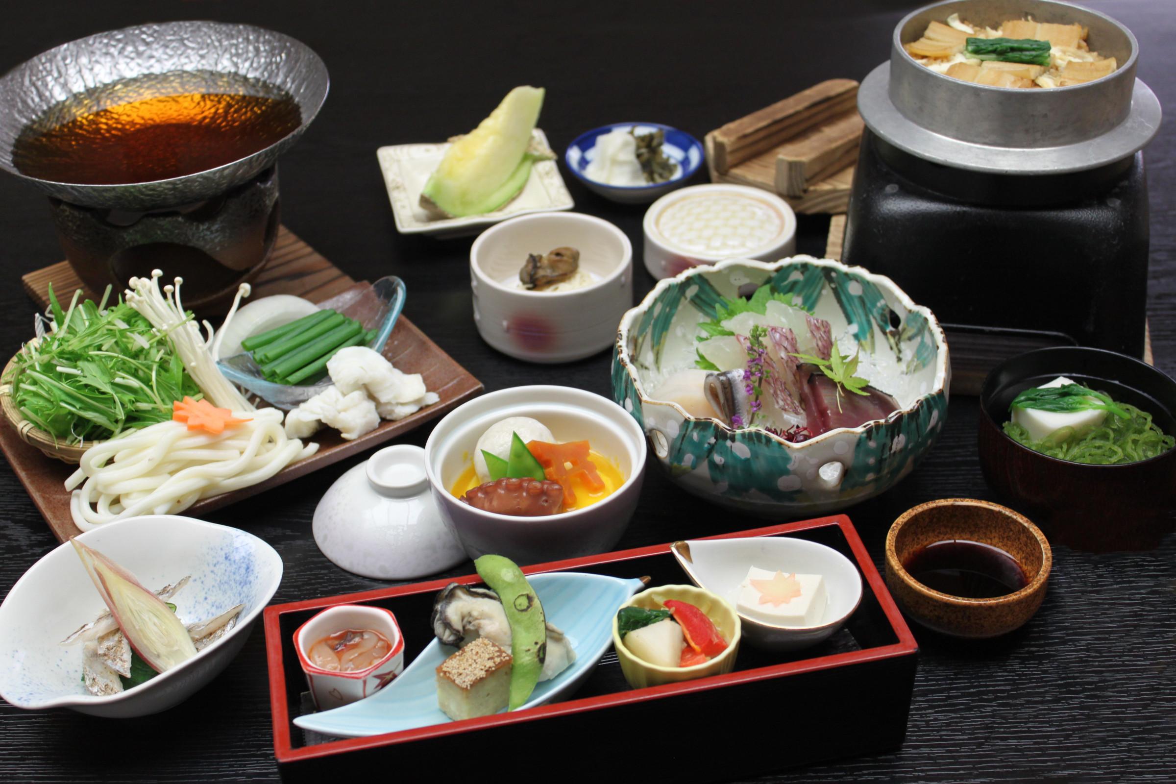 誕生日に最適! コース&会席で味わう広島ディナー