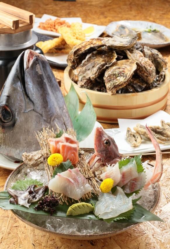 【夫】の記念日にプレゼントしたい。名古屋の魚介グルメの食事券・愛知編