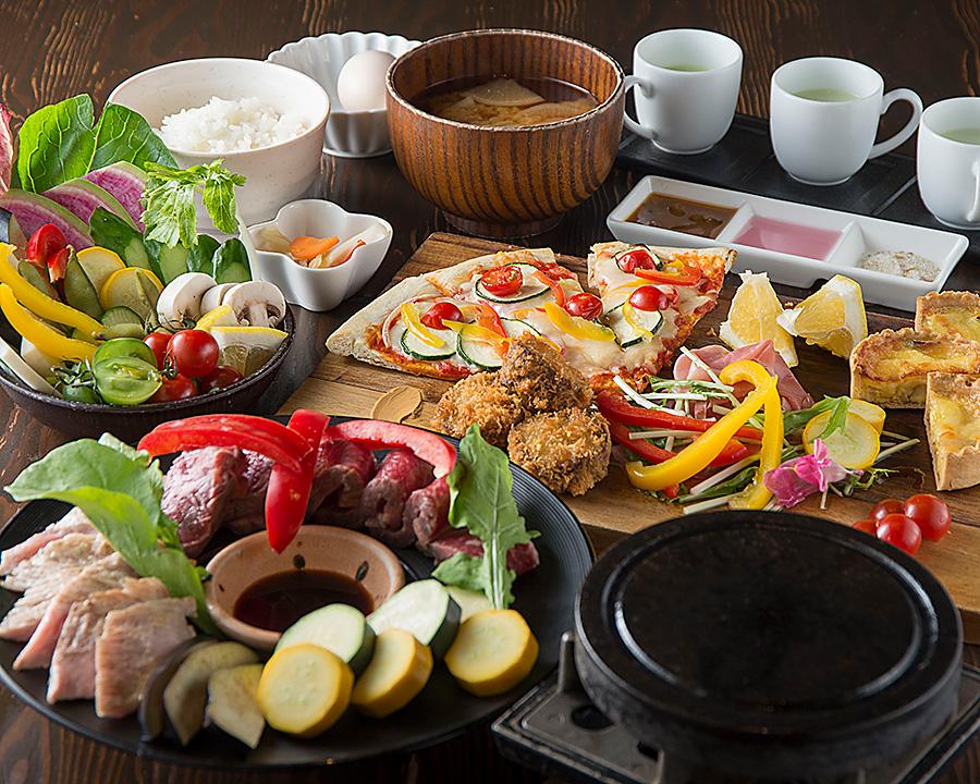 プレゼントに最適な食事券!東京「野菜が主役のヘルシー料理を堪能しよう」