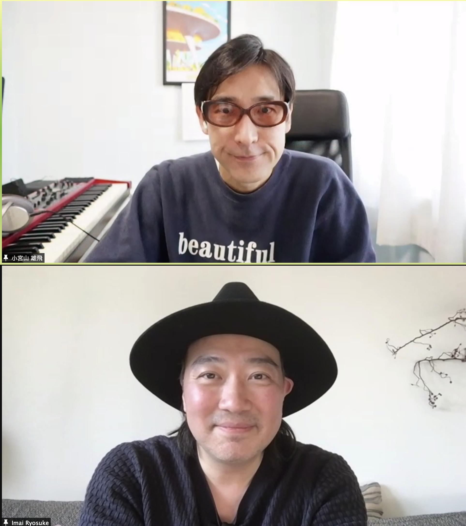 【ごちめし対談・第4回】ホフディラン・小宮山雄飛×今井了介