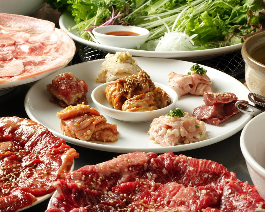 誕生日に食事券贈ろう。東京「和韓」「焼肉食堂(卸)調布食肉センター」
